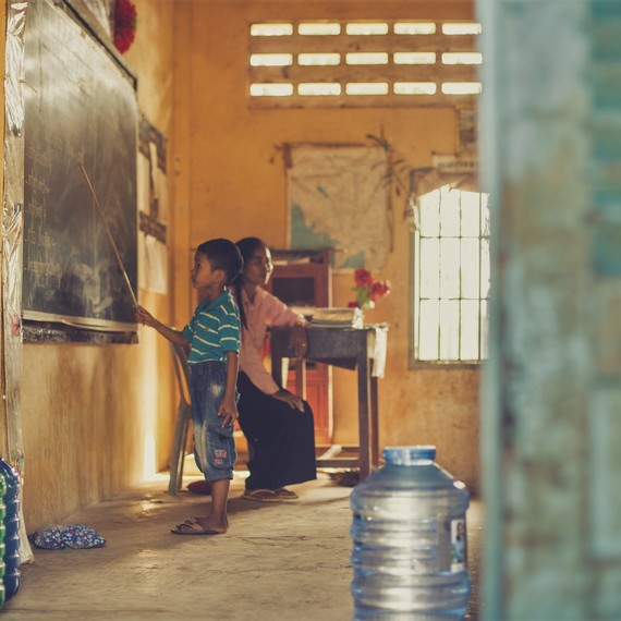 Donnons aux enfants un accès à l'eau potable