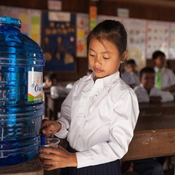 De l'eau potable dans les écoles !