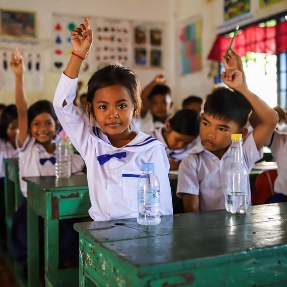 De l'eau potable pour les enfants grâce à la classe Vermillon